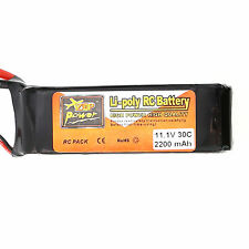 2200mAh 30C 11.1V T Plug Lipo Battery For RC Car Quad Drone /Truck Replacement