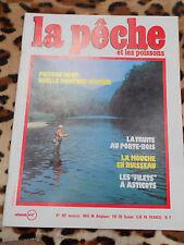 REVUE - La pêche et les poissons - n° 492, mai 1986