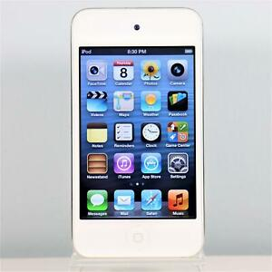 Apple iPod Touch (8GB) WHITE 4th Generation MP3 Music & Video Player - A1367