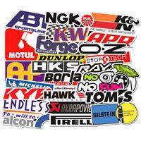 103Pcs Auto Car Parts NHRA Drag Racing Lot Vinyl Graphics Stickers Decals Sheet