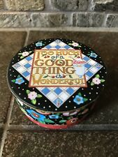 """Mary Engelbreit Mini Round Box """"Too Much of A Good Thing is Wonderful�-4022"""