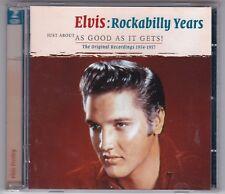 ELVIS PRESLEY - ROCKABILLY YEARS - JUST AS GOOD AS IT GETS! 1954-1957/ 2 CD'S