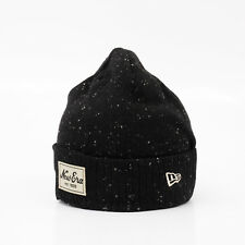 NEW ERA CAP Winter Strick Mütze Beanie Fleck Knit Schwarz Meliert TOP SALE