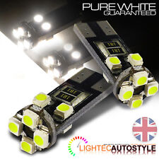 T10 CANBUS 8 SMD CAR BULBS LED ERROR FREE XENON WHITE W5W 501 SIDE LIGHT BULB UK
