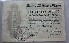 Landeck in Schlesien - Notgeld - eine Million Mark No  3055 - 1923