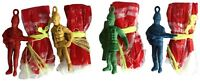 Bulk Lot 24 x Parachute Man Paratroopers Army Soldier Battle Toy Party Favor New