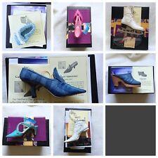 7 Just the Right Shoe by Raine 2001 w/ Box Coa Nib