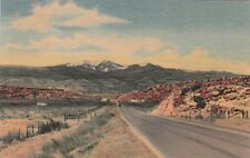 Postcard Mt Taylor from Highway 66 Near Grants New Mexico Nm