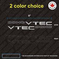 CIVIC SI DOHC VTEC DECAL. jdm em1 oem ex dx b16a2 ek9 sir 96 dohc sticker