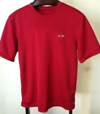 Champion Men's Duo Dry Athletic Tee Shirt Short Sleeve Team Red Scarlet Sz Small