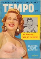 Tempo Digest June 1 1954 Abbe Lane Cheesecake Pin Up 091218AME2