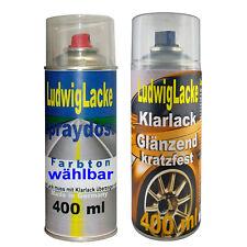 Daytonagrau LZ7S Autolack Klarlack je 400ml für Audi Spraydosen FreiHaus
