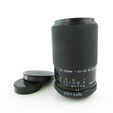 Für M42 Exakta 4.5-5.6 80-200mm MC Macro Objektiv lens + caps