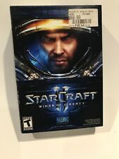 Starcraft II 2 Wings of Liberty 2010 Blizzard Apple Mac Windows PC Video Game