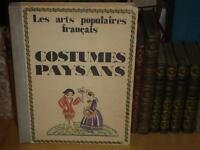 [ARTS POPULAIRES PHOTOGRAPHIE] COSTUMES PAYSANS EO Ca 1929 Regions de France