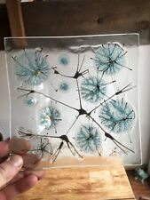 """""""Thistledown"""" Square Plate/Bowl by Higgins"""
