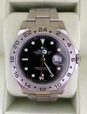 Rolex Explorer II 16570 / 40mm / schwarzes Zifferblatt / ca. BJ 2003