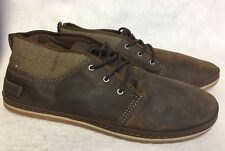 Teva Mens Cedar Canyon Waxed Leather Desert Boot Shoes Lace Up Fashion Sneaker