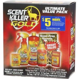 Wildlife Research Scent Killer Kit Gold