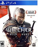 The Witcher 3: Wild Hunt PlayStation 4 Ps4/ps5 Game No Codes