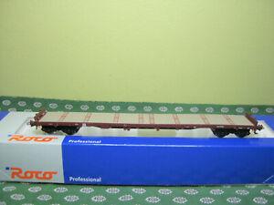 ROCO  wagon plat  SNCB,NMBS   HO