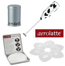 Coffee Gift Pack - Aerolatte Mooo Milk Frother - Stencil Kit - Chocolate Shaker