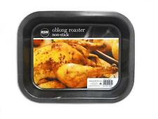NON-STICK BAKING TRAY OBLONG ROASTER 23CM X 17.5CM