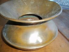 """New listing Vintage Small Solid Brass Tobacco Spittoon Cuspidor -Planter? 4 1/2"""" Talll"""
