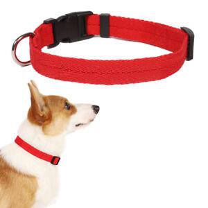 Dog Collar Adjustable Pet For Small Dogs Nylon High Quality Colorful Comfortable