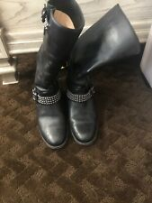 Wow !! Christian Louboutin Studded Boots Size 37.5 with Hidden Platform