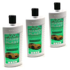 3 X 500 ml (€9,97/L) Nano Plast - Autopolitur - Auto Politur - Versiegelung