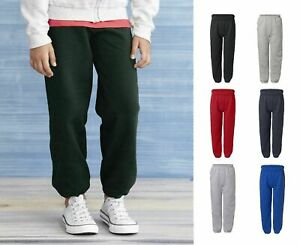 Gildan -  18200B Heavy Blend™ Youth Sweatpants Unisex Pants Pill-resistant
