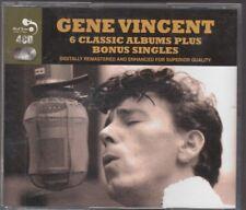 GENE VINCENT - 6 classic albums plus bonus singles BOX 4 CD