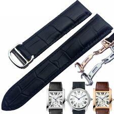correa para Cartier london tank series reloj cadena cuero 16mm/18/20/21/22/24