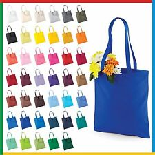 BAG FOR LIFE with LONG HANDLES 100% Cotton Capacity 10 Litres - WESTFORD MILLS