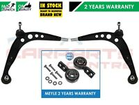 FOR BMW E36 2 FRONT LOWER TRACK CONTROL WISHBONE ARMS ARM REAR BUSH BUSHES KIT