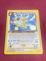 Pokemon Dark Ampharos Holo Rare 1st Edition Neo Destiny PL 1/105