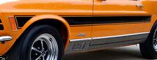 Rallyestreifen alle Fahrzeugtyp. - ca. 220 cm x 13 cm, viele Farben RETRO 2 Stck