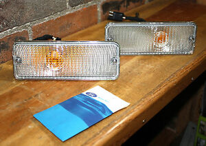 OEM Ford #D3TB-13412 (AB) Turn Signal/Parking Light Set NIB SAE IP 73 TK