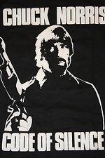 XS * original NOS thin vtg 80s 1985 CHUCK NORRIS movie promo t shirt * KARATE