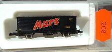 Mars, wagon transport de conteneurs Kolls 87713 Märklin 8615 Z 1/220 208