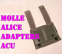 NEW Molle II ALICE CLIP ADAPTER SDS Foliage Green ACU