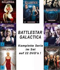 22 DVDs * BATTLESTAR GALACTICA -  KOMPLETTE SERIE IM SET # NEU OVP +
