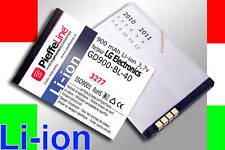 Batteria Li-ion 900mAh per LG Electronics GD900 BL-40