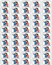 "50 Lilo and Stitch Envelope Seals / Labels / Stickers, 1"" by 1.5"""