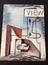VIEW. JANUARY 1946 * JORGE LUIS BORGES STORY*