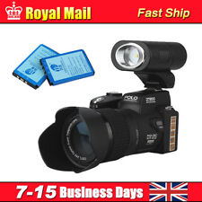 POLO D7200 Digital Camera DVR Camcorder 24X Zoom+3Lens+Sportlight +2x Batteries