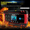 Car Jump Starter Emergency 12V/24V Power Bank Battery Charger with LCD Displays