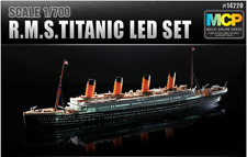 Academy #14220 Model kit 1/700 MCP(Multi Color Kit)  R.M.S.TITANIC LED SET