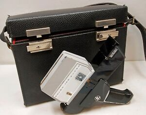 """CAMERA PAILLARD BOLEX """" 155 """"  - super 8 mm   - 1968 - N° D 74756"""